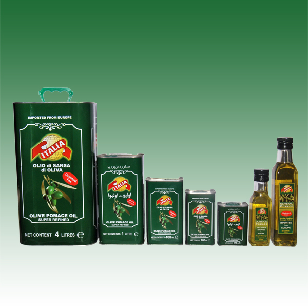 olives pomace oil range